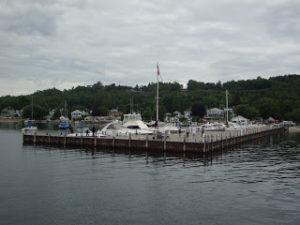 Dock-gray sky